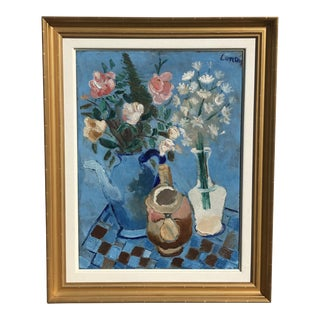 Andre Lanskoy Still Life Oil on Canvas