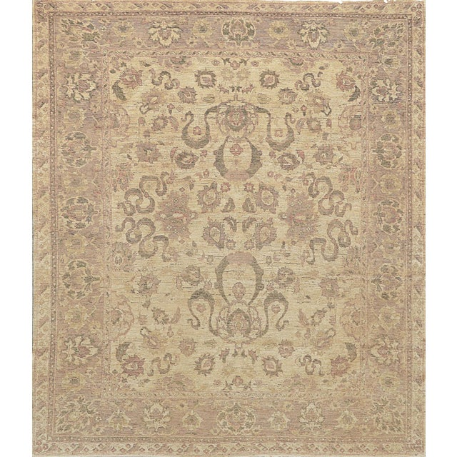 Mansour Exceptional Quality Handwoven Sultanabad Rug - 8' X 10' For Sale