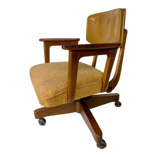 Gunlocke Mid Century Office Chair For Sale