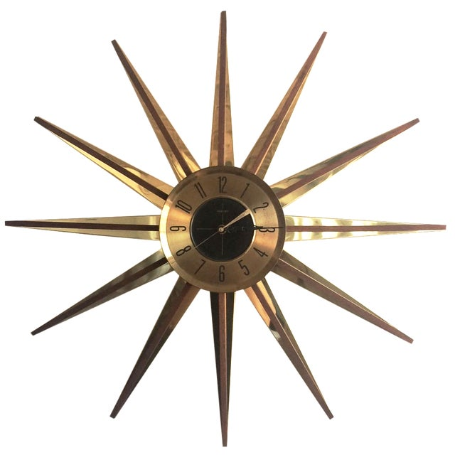 Welby Atomic Starburst Clock - Image 1 of 7