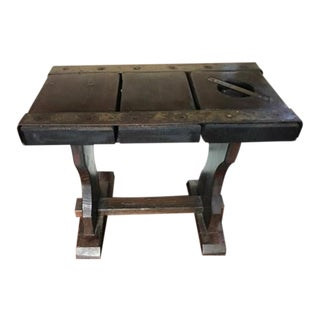 Antique Ship Hatch Bench