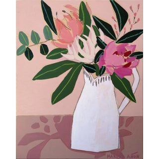 """Spring Florals 2"" Original Painting by Marisa Añón For Sale"