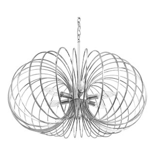 Modern Lightolier Chandelier by Sciolari