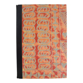 """2005 Custom Fortuny Bound """"Garbo: Portraits"""" Book For Sale"""