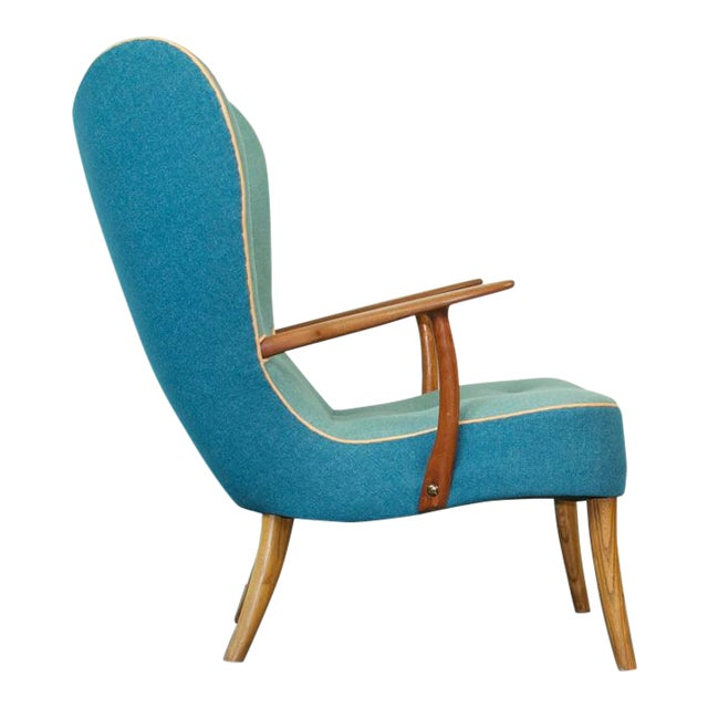 Madsen and Schubell Pragh Lounge Chair For Sale