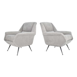 Pair of Gigi Radice Lounge Chairs For Sale