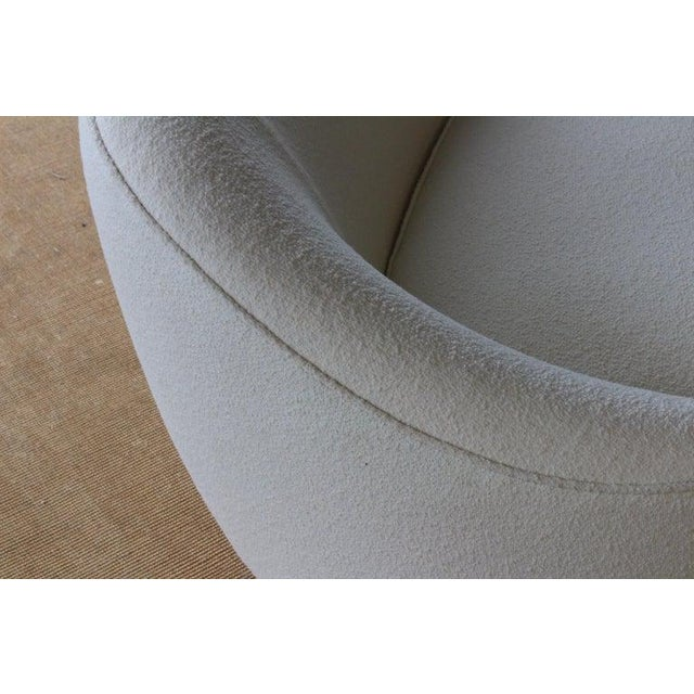 Modern Curved Boucle Sofa, Italy, 1960s For Sale - Image 12 of 13