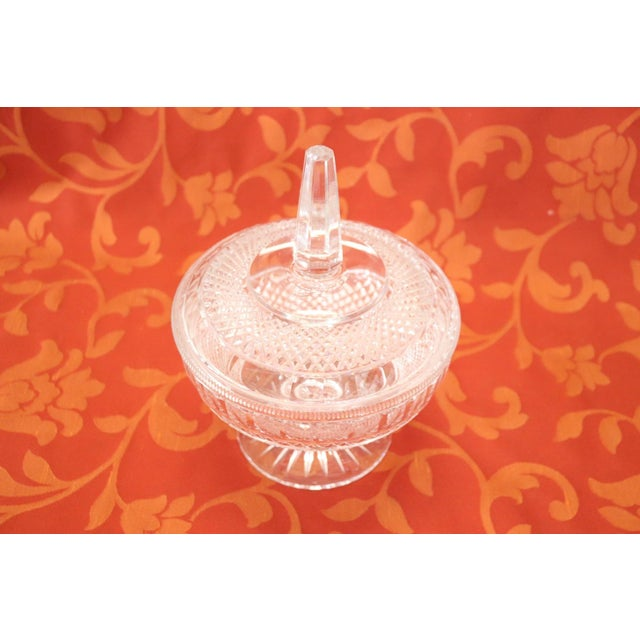 20th Century Crystal Centrepiece, 1980s For Sale - Image 4 of 9