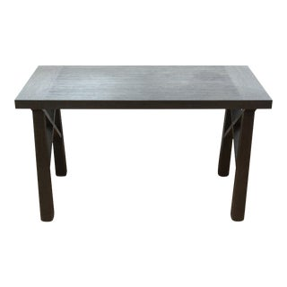 Christian Liaigre Modern Oak Dining Table For Sale