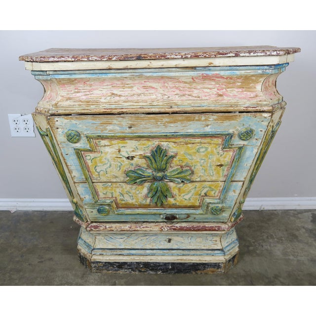 19th Century Italian Painted Altar Table For Sale - Image 10 of 10