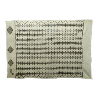 "Anatolian Turkish Tribal Wool Kilim Rug-5'8'x8'4"" For Sale"