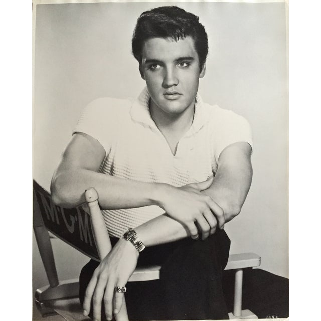 "Virgil Apger Original 1950s Elvis Photograph 16"" X 20"" - Image 1 of 5"
