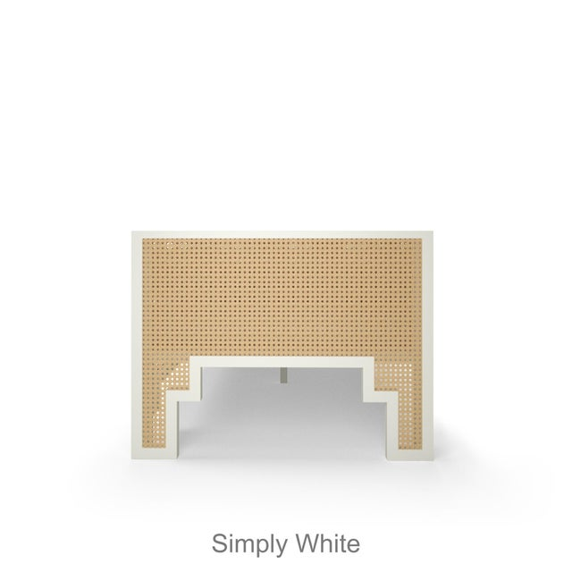 Alexandra Daybed - Citron, Optic White Linen For Sale - Image 4 of 6