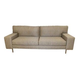 Swaim Silver Gray Whim Sofa