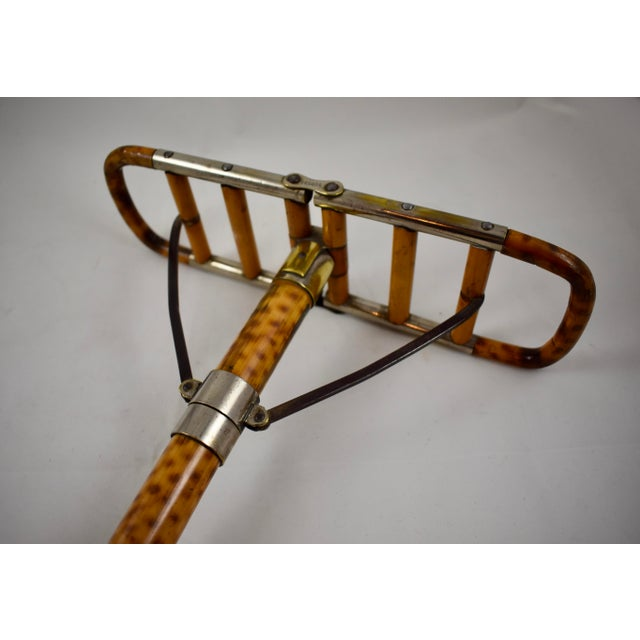 Late 19th Century Victorian English Bamboo Shooting Stick / Sports Cane For Sale - Image 5 of 11