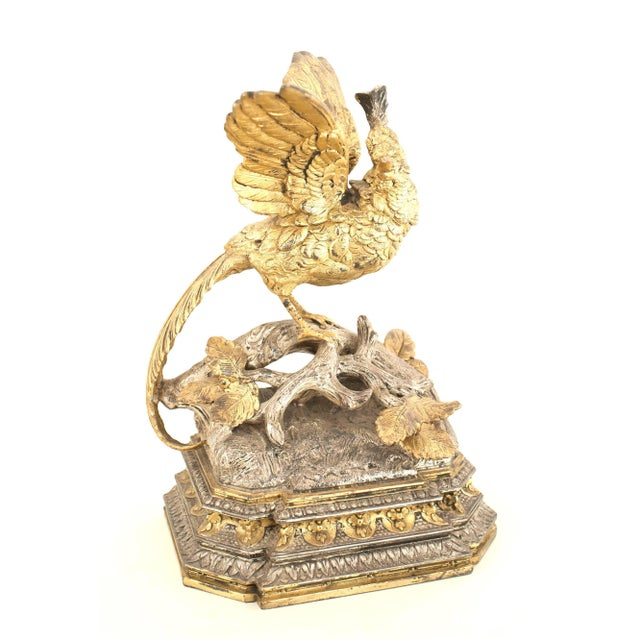 Pair of French Victorian Silver and Gilt Bookends For Sale In New York - Image 6 of 12