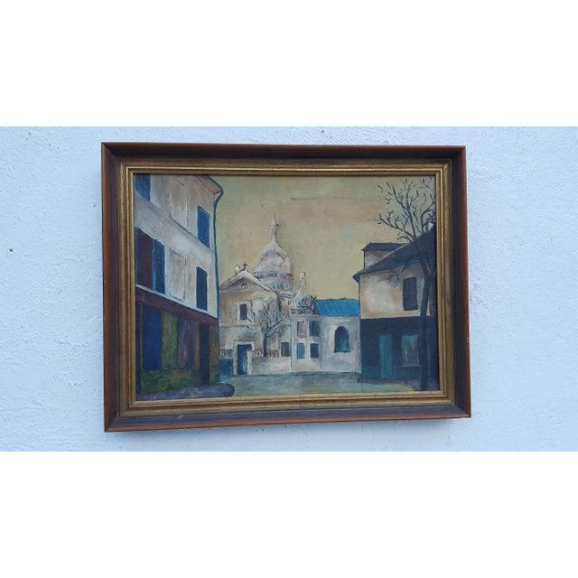 1964 Rodger Moprisk Rural Street Scene Oil Painting - Image 2 of 9