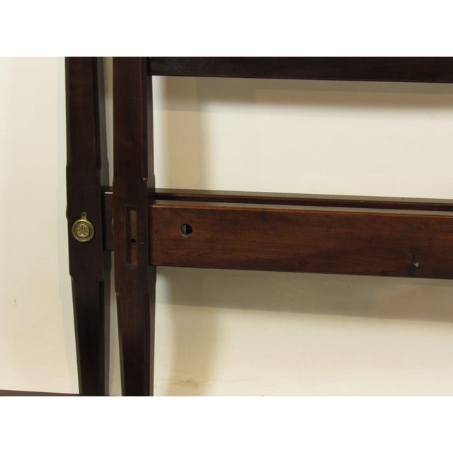 Traditional 1980s Queen Size Four Poster Bed For Sale - Image 3 of 9
