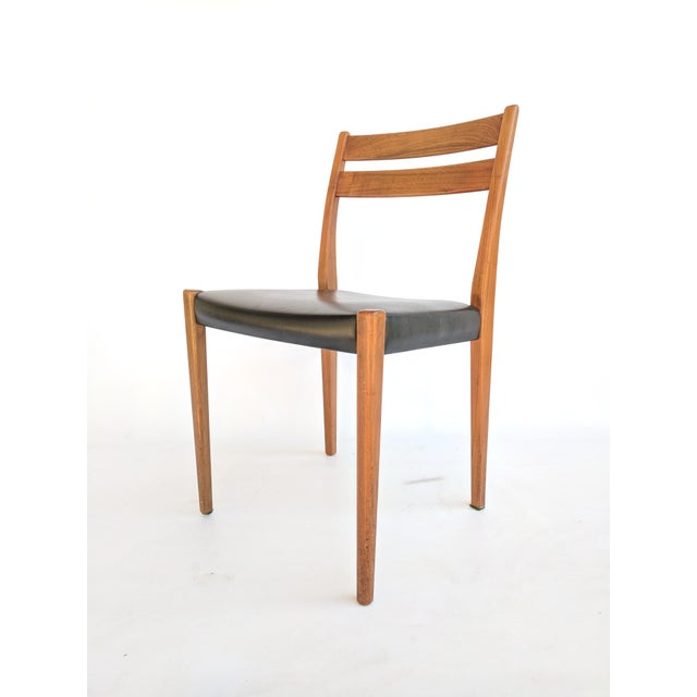 1960s Svegards Markaryd Swedish Modern Teak Dining / Side Chair For Sale - Image 9 of 9