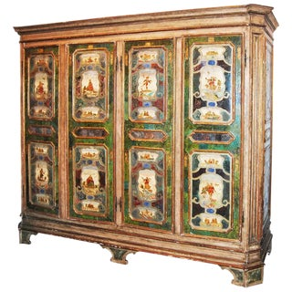 19th Century Venetian Armoire