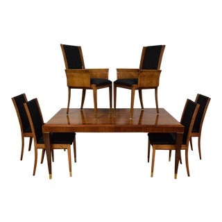 Mahogany Henredon Dining Table & Chairs
