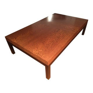 Christian Liaigre for Holly Hunt 'Boke' Wenge Wood Coffee Table For Sale