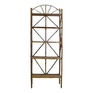 Victorian Bamboo Étagère For Sale