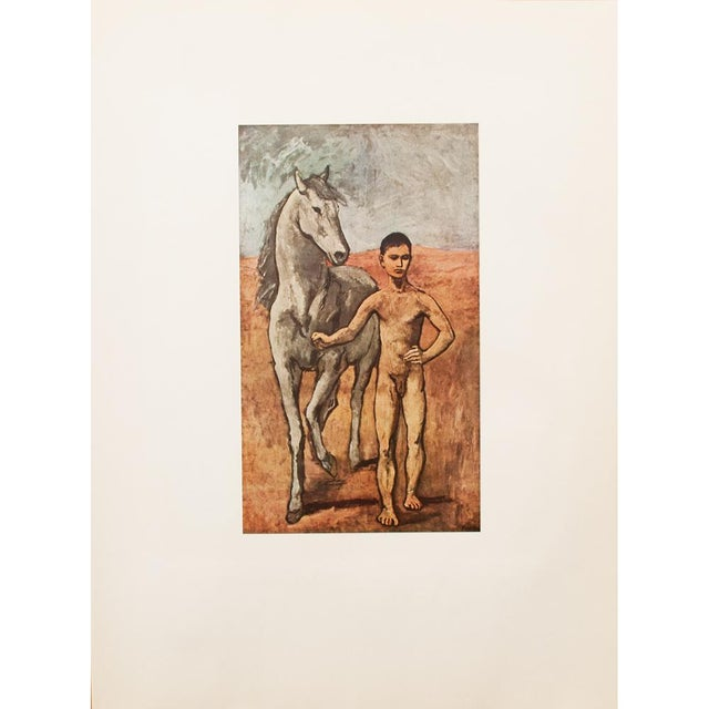 """1950s Picasso, Original """"Boy Leading a Horse"""" Period Lithograph For Sale - Image 9 of 10"""