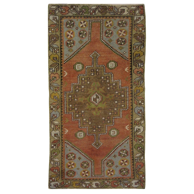 Vintage Turkish Oushak Rug - 3′ × 5′8″ - Image 1 of 3