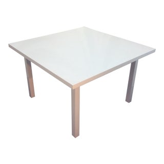 Custom White Coffee Table