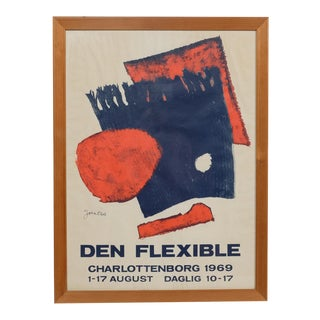 "Mid-C. ""Den Flexible"" Poster 1969 Ole Folmer Hansen For Sale"