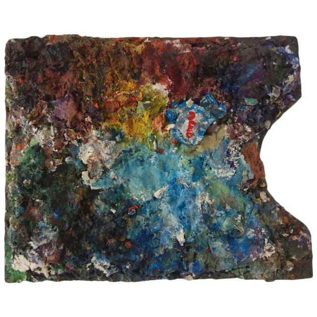 Vintage Artist's Paint Palette For Sale