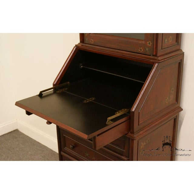 Late 20th Century 20th Century Traditional Hooker Furniture Secretary Desk For Sale - Image 5 of 13