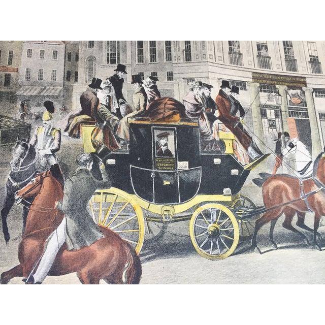 Realism British Coaching Scene Engraving For Sale - Image 3 of 6