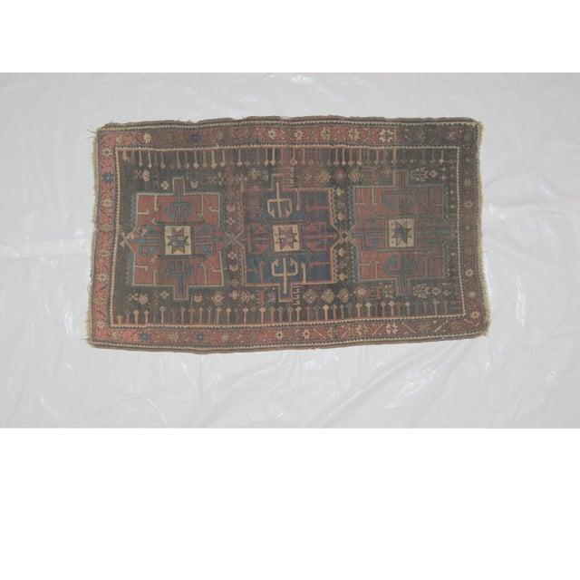 "Leon Banilivi Kazak Brown Wool Rug - 5'6"" X 3'2"" - Image 3 of 7"
