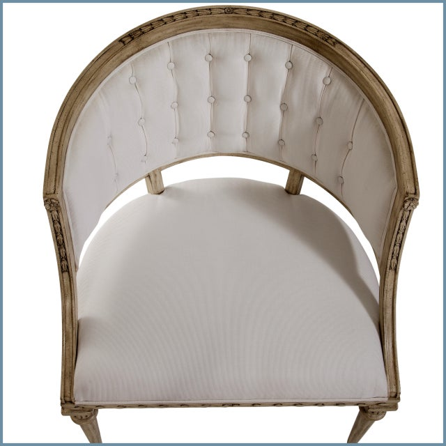 2010s Swedish Wave Rim Occasional Chair For Sale - Image 5 of 6