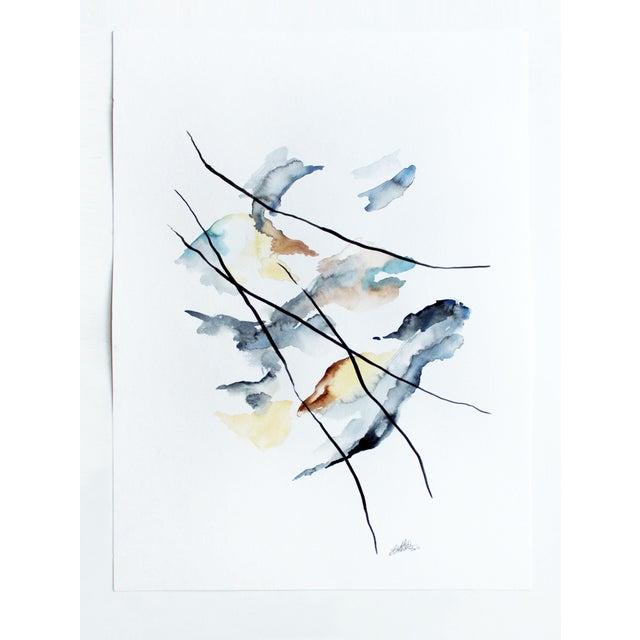 """Eh Sherman """"Calbuco"""" Original Painting - Image 2 of 4"""