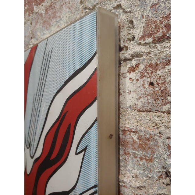 Blue Roy Lichtenstein -Whaam ! - Vintage Lithographs - A Pair For Sale - Image 8 of 12