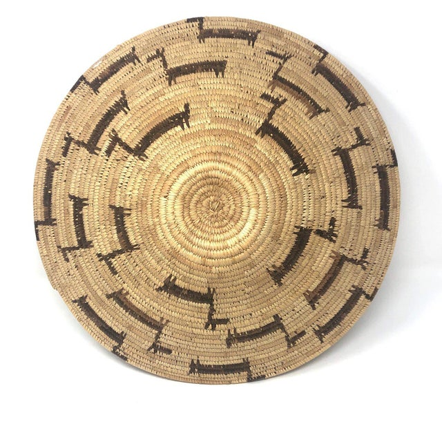 African Deer Motif Woven Basket For Sale - Image 10 of 10