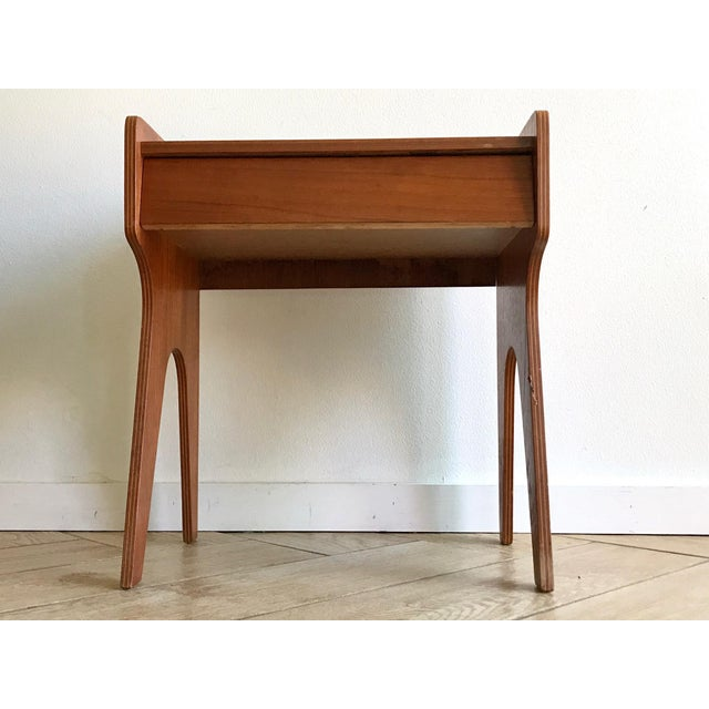 1960s 1960s Mid Century Modern Small Side Table Nightstand For Sale - Image 5 of 11