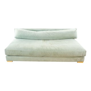 CB2 Piazza Storm Upholstered Sofa For Sale