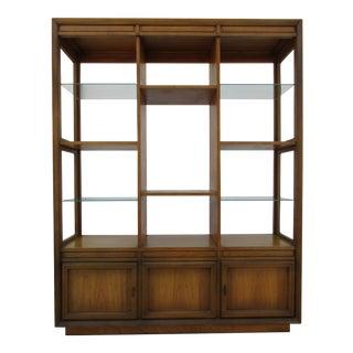 Mid-Century Modern Bookcase Cabinet