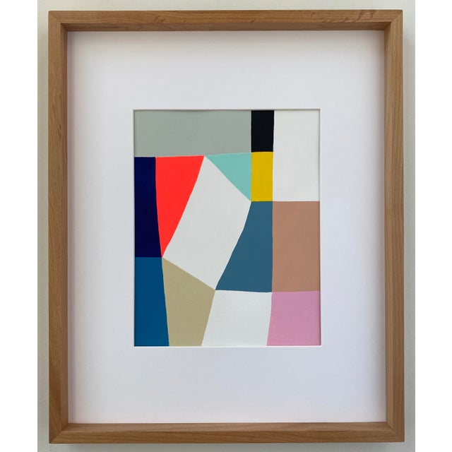 Middle Form Painting, Framed For Sale - Image 6 of 6