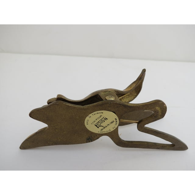 Brass Hummingbird Paper Clip - Image 5 of 5