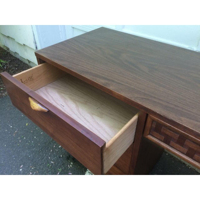 Wood Lane Mid-Century Desk For Sale - Image 7 of 7