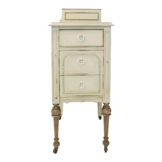 1920s Shabby Chic Nightstand For Sale