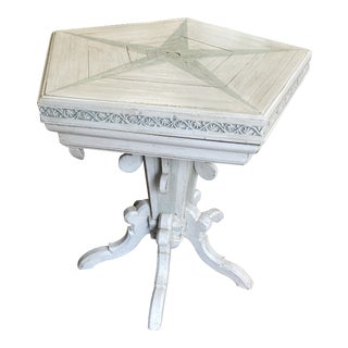 Victorian Painted Game Table For Sale