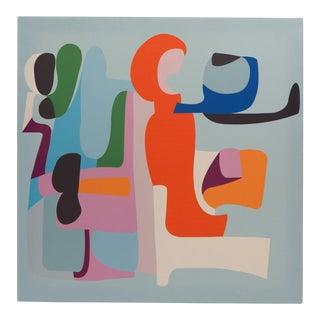 """Amí"" Mother in Caber Language-Screen Print by Gabriela Valenzuela-Hirsch For Sale"