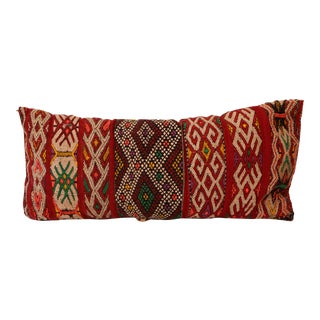 Moroccan Boho Chic Vintage Pillow For Sale