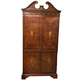 Vintage Drexel Heritage French Country Armoire For Sale
